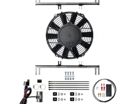 High power fan assembly