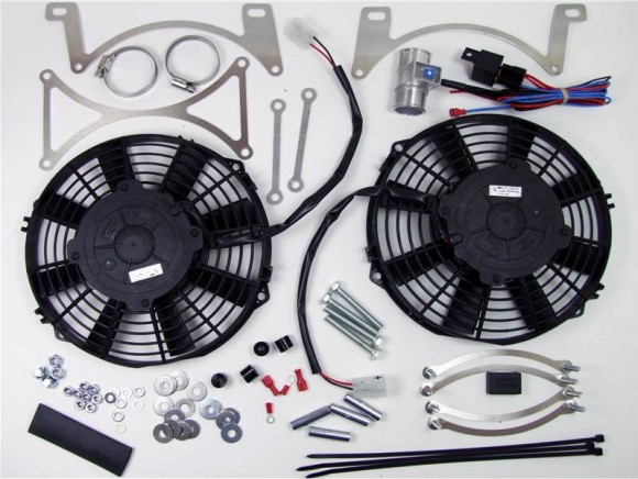 High power cooling fan kit