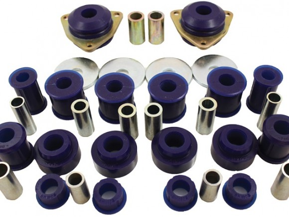 Polyurethane rear leaf shackle pin bush car set