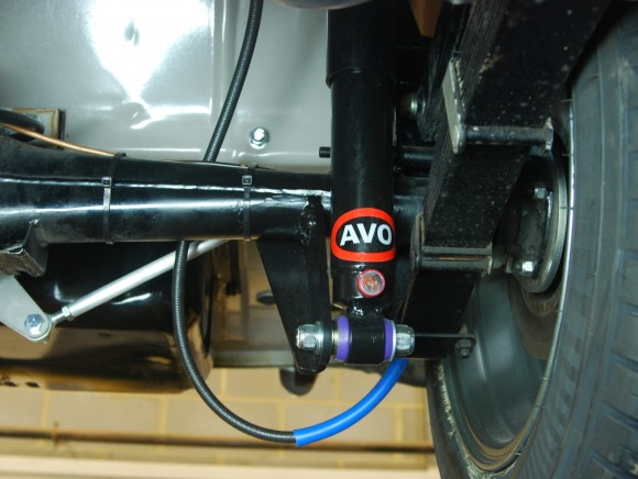 Front suspension conversion midget