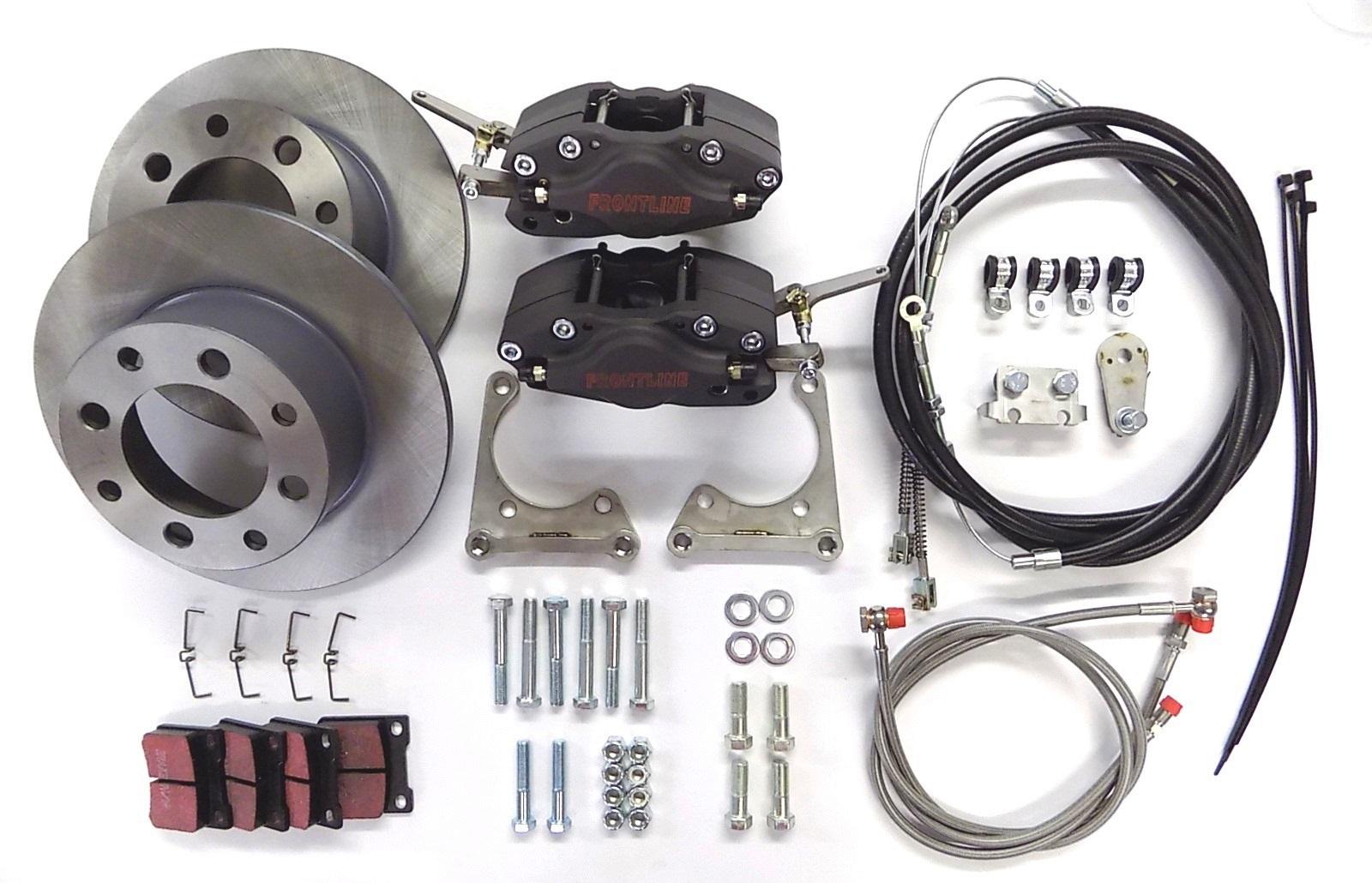 MGB Rear disc brake conversion - Frontline Developments