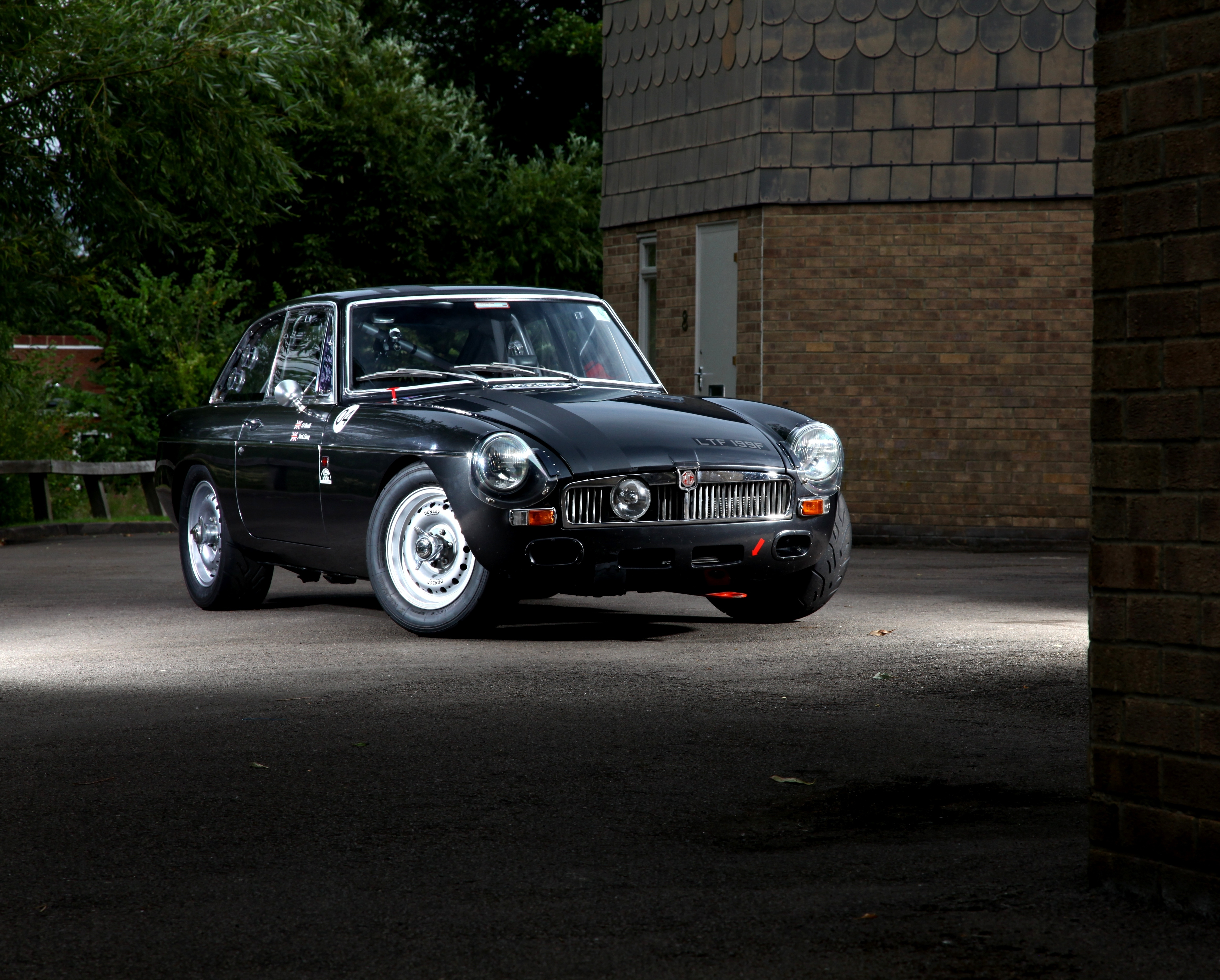 1968 MGB GT  Not your average concourse show winner